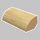 Quarter Round Laminated Maple